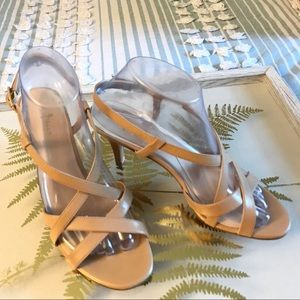 Cole Haan Strappy Sandals Sz. (8B) Nude L13 D41286